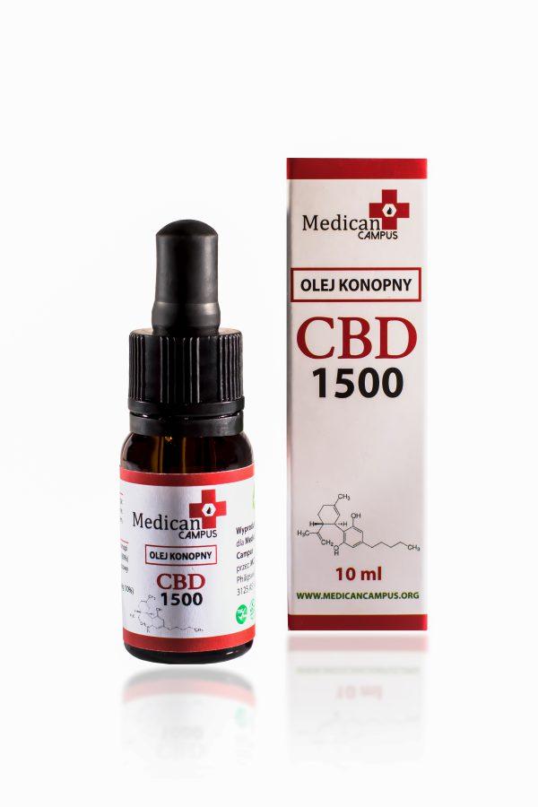 Seria CBD CRYSTAL 15% Olej z nasion konopi włóknistych 7580mg o pojemności 10 ml