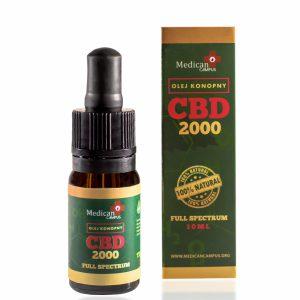 Seria CBD FULL SPECTRUM 20% Olej z nasion konopi włóknistych 7080mg o pojemności 10 ml