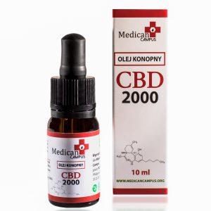 Seria CBD CRYSTAL 20% Olej z nasion konopi włóknistych 7080mg o pojemności 10 ml