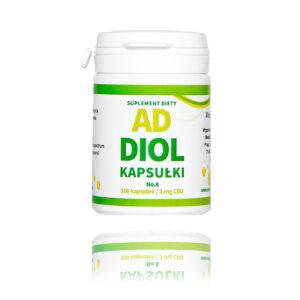 ADDIOL No 8 Wyciąg z konopi z pełnym spektrum 300 mg o pojemności 100 kapsułek