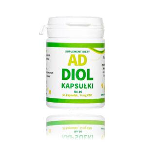ADDIOL No 16 Wyciąg z konopi z pełnym spektrum 300 mg o pojemności 50 kapsułek