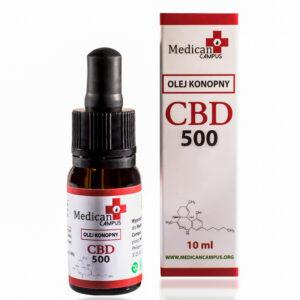 Seria CBD CRYSTAL 5% Naturalny olej z nasion konopi włóknistych 8580 mg o pojemności 10 ml