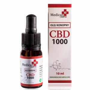 Seria CBD CRYSTAL 10% Olej z nasion konopi włóknistych 8080mg o pojemności 10 ml