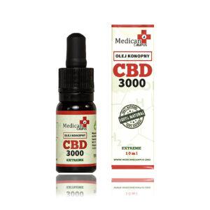 Seria CBD FULL SPECTRUM 30% EXTREME Naturalny olej z nasion konopi włóknistych 6080 mg o pojemności 10 ml